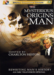 Mysterious Origins of Man DVD box