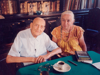 Daniel and Carola Ruzo.