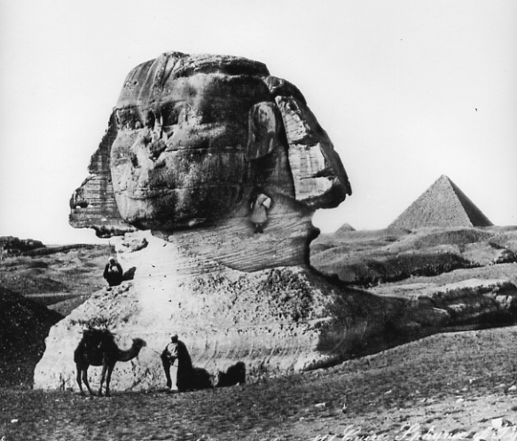 old sphinx and camel
